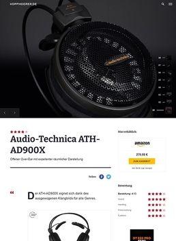 ATH-AD900 X
