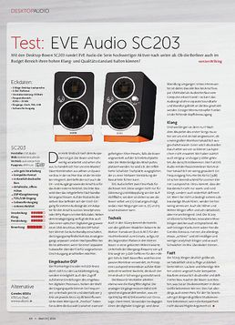 EVE Audio SC203