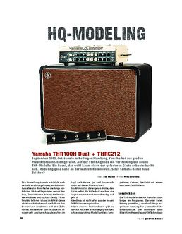 Yamaha THR100H Dual + THRC212, Top & Box