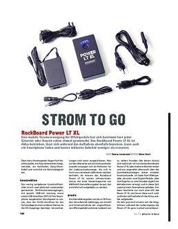 RockBoard Power LT XL, kabellose Stromversorgung