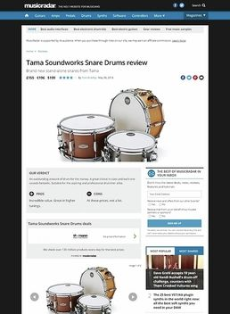 Tama Soundworks Snare Drums