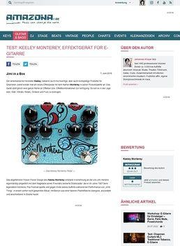 Test: Keeley Monterey, Effektgerät für E-Gitarre