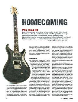 PRS CE24 GB, E-Gitarre