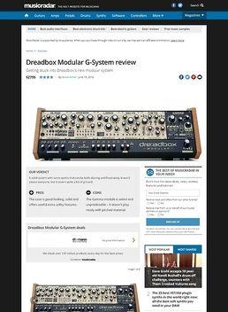 Dreadbox Modular G-System