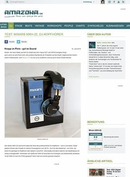 Test: Mixars MXH-22, DJ-Kopfhörer