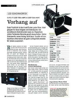 EUROLITE LED THA-40PC & LED THA-60PC