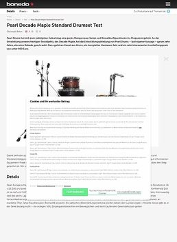 Pearl Decade Maple Standard