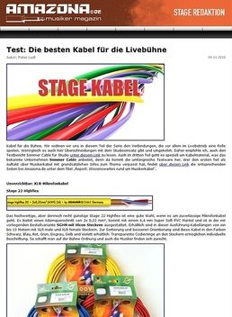 Test: Die besten Kabel für die Livebühne