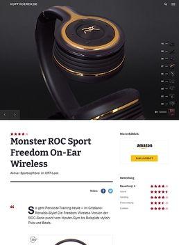 ROC Freedom Wireless On-Ear