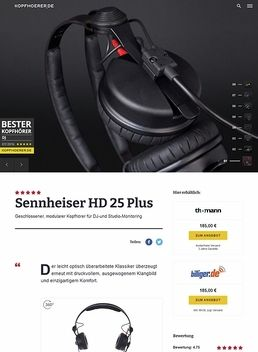 Sennheiser HD-25 Plus