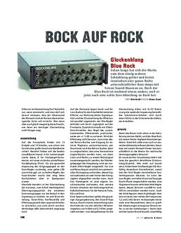 Glockenklang Blue Rock, Bass-Head
