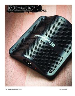 Beyerdynamic TG D71c - Bassdrum-Mikrofon