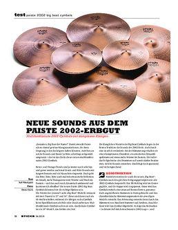 "24"" 2002 Black Big Beat Cymbal"