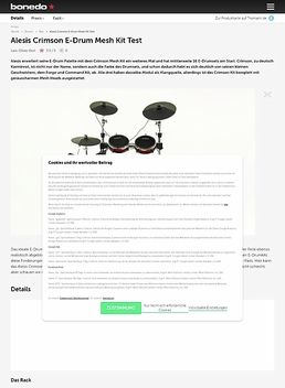 Alesis Crimson E-Drum Mesh Kit