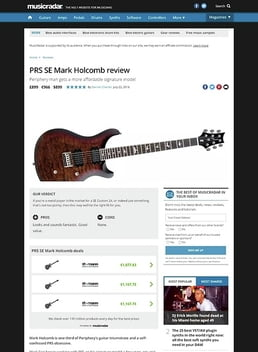 PRS SE Mark Holcomb