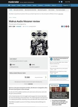 Walrus Audio Messner