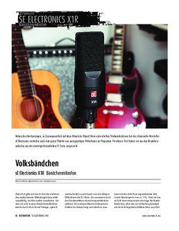 sE Electronics X1R - Bändchenmikrofon