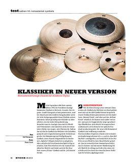 Sabian HH Remastered Cymbals