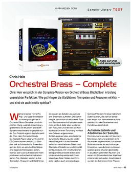 Chris Hein Orch Brass Complete