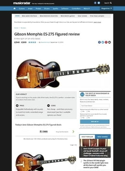 Gibson Memphis ES-275 Figured