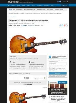 Gibson ES-335 Premiere Figured