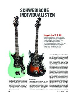 Hagström II & III, E-Gitarre