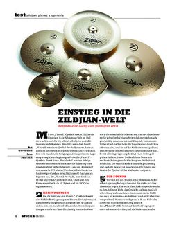 Planet Z Standard Cymbal Set