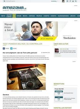 Test: Pioneer DDJ-RZX, DJ-Controller