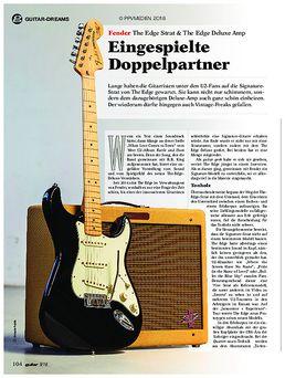 Fender The Edge Strat & The Edge Deluxe Amp