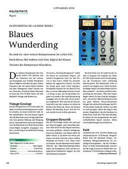 Slate Digital FG-116 Blue Series