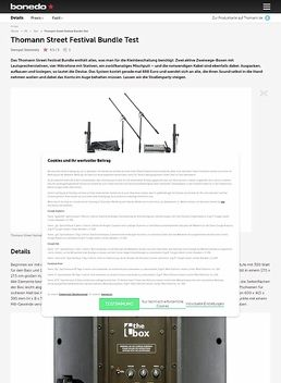 Thomann Street Festival Bundle
