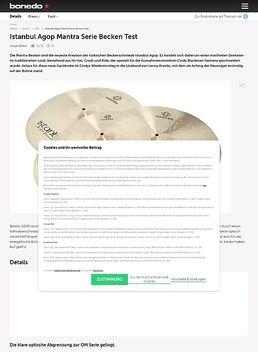 Istanbul Agop Mantra Serie Becken