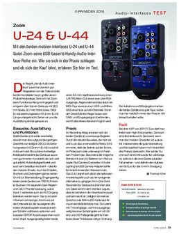 Zoom U-24 & U-44