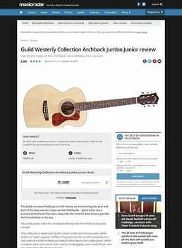 Guild Westerly Collection Archback Jumbo Junior