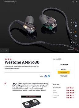 Westone AMPro30