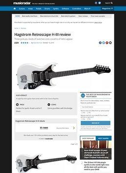 Hagstrom Retroscape H-III