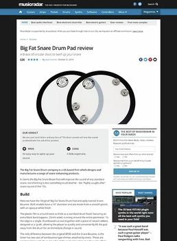 Big Fat Snare Drum Pad