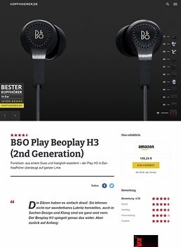 B&O Play H3 2nd Generation Black