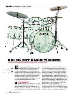Tama Silverstar Mirage Drums