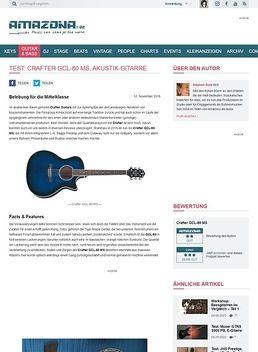 Crafter GCL-80 MS, Akustik-Gitarre