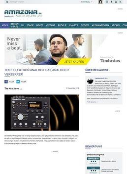 Elektron Analog Heat, analoges Effektgerät