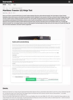 Markbass Traveler 121 Ninja