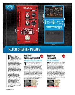 Pitch Shifter Whammy Ricochet