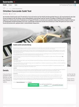 Ortofon Concore Gold