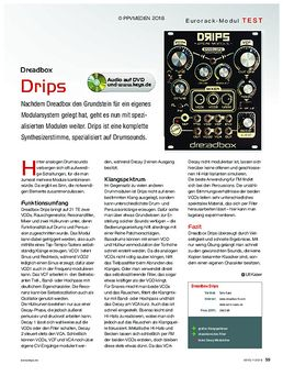 Dreadbox Modular Drips