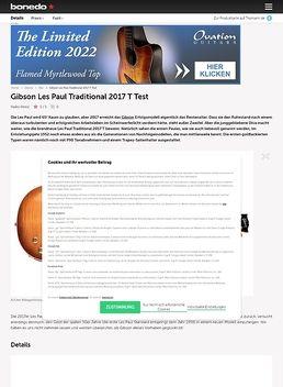 Les Paul Trad. T 2017 AB