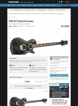 SE Tremonti Custom VS 2017