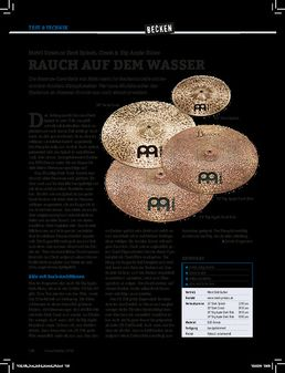 Meinl Byzance Dark Splash, Crash & Big Apple Rides