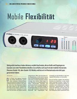 Presonus Studio 192 Mobile