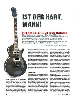 FGN Neo Classic LS-20 Oliver Hartmann